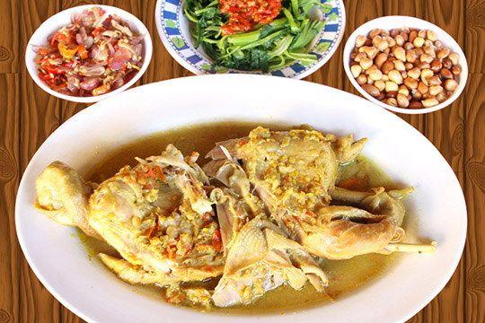 Ayam Betutu Kuah Ayam Betutu Gilimanuk Food Dining Menu Cooking
