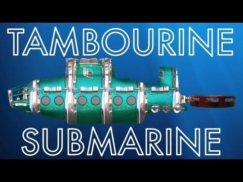 Check out Recess Monkey's video 'Tambourine Submarine.' Part of their ninth album, Deep Sea Diver, which released in June!