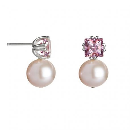 OMG!! Pink girls -- look at these earrings!   I need these.  They are absolutely delicious -- raspberry topaz with a pink pearl. I love Katie Hines.