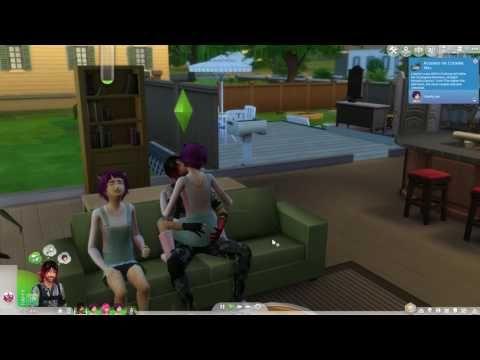 Секс в игре симс 4 видео пожалуй