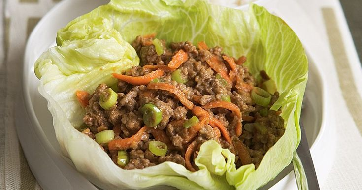 Crisp lettuce shells encase the aromatic mince mixture of this traditional Asian dish. Serve it as a starter or as a light main.
