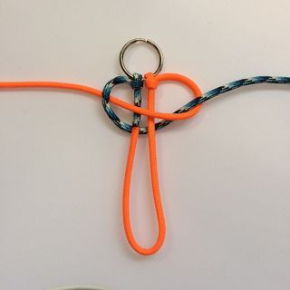 Make a Paracord Keychain, the Paracord supplies to get, 3 ft of Paracord, a Key ring, some scissors and a lighter. If you want to make a 2 color Paracord Keychain,...