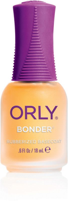 Orly Bonder grips nail lacquer to the nail surface for lasting adhesion