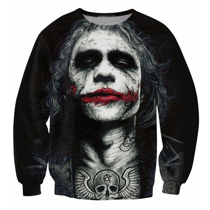 Joker The Dark Knight Sweatshirt - free shipping worldwide