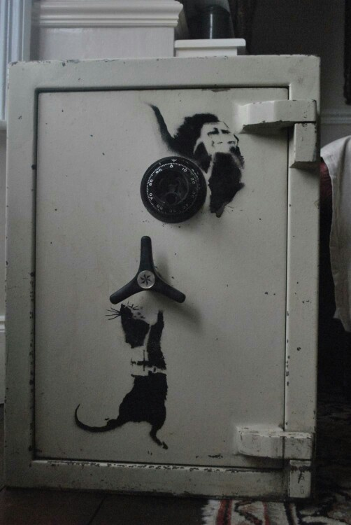 Rats, Banksy   I couldn't steal this one fast enough!