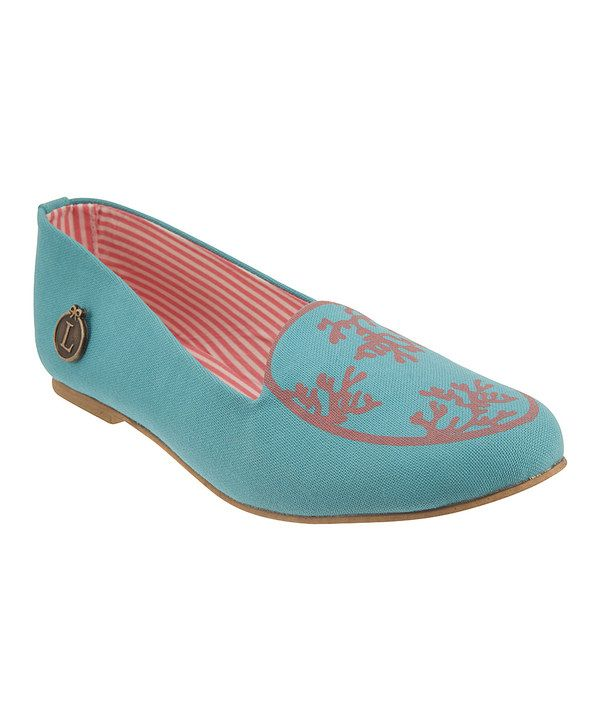 Look at this Turquoise Luisa Loafer on #zulily today!