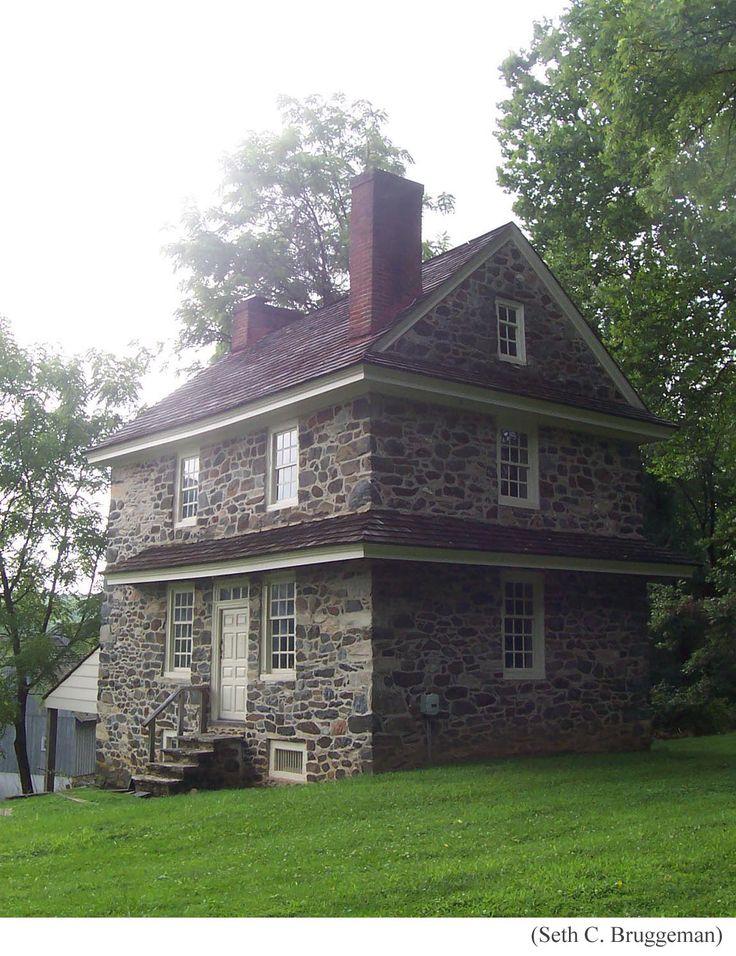 FARMHOUSE Vintage Early American Farmhouse In Historic New England The John Chad House Chaddsford Pennsylvania