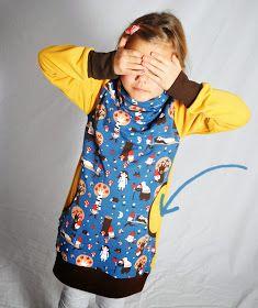 leni pepunkt: Adventskalender - Türchen #5 - tutorial... Eingriffstaschen am Pullover, am Shirt...