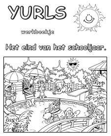 Groep 3 Kleurplaat Yurls Werkboekjes Werkboekjes Yurls Net Vakantie