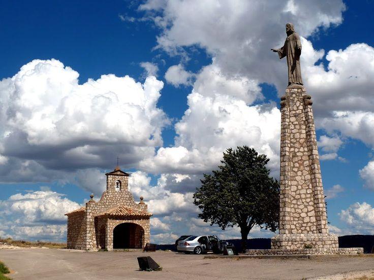 Ermita y Monumento al Sagrado Corazón de Jesús, Pastrana, Guadalajara, Castilla La Mancha, España