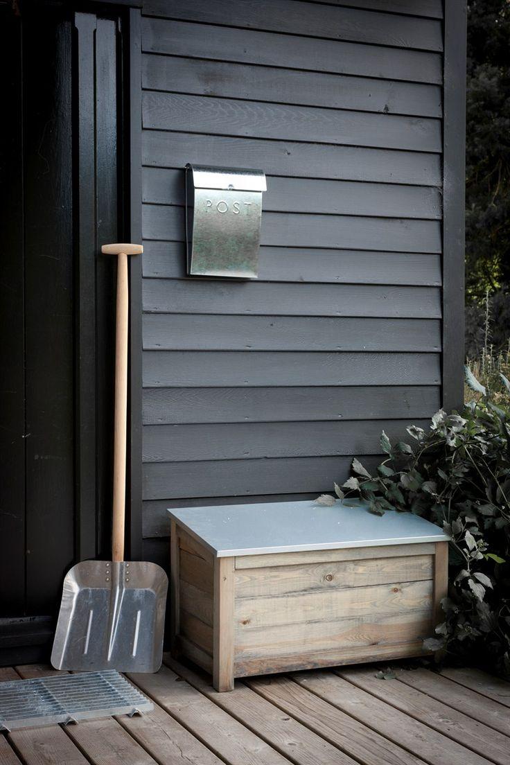 Wooden Outdoor Storage box at Garden Trading