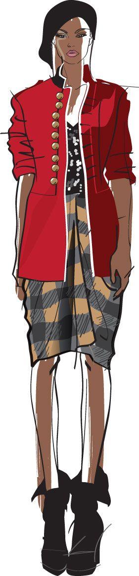 nice jacket: Fashion Sketches, Fashion Illustration Sketches, Fashion Drawings Sketches, Fashion Drawing Sketches, Fashion Croquis Illustration, Fashion Illustrations