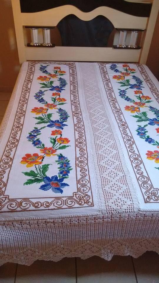 520 mejores im genes sobre bordado en pinterest bordado for Como hacer alfombras en bordado chino