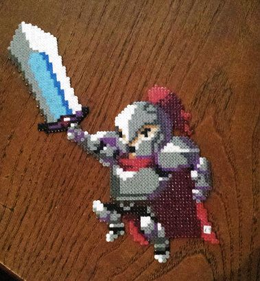 Rogue Legacy Knight Perler by GothInABoxCreations on Etsy