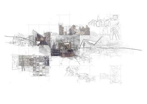 Landscape Architecture Drawing Techniques 187 best architecture representation images on pinterest
