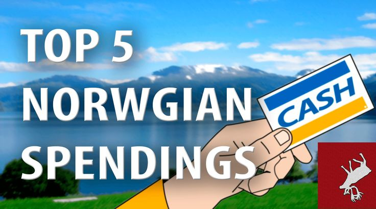 Top 5 List. What Do The Norwegian Spend Their Oil Money On?
