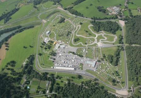 The Oulton Park circuit in the village of Little Budworth, Cheshire, England, home to the.  Oulton Park International Gold Cup reinstated by the Historic Sports Car Club in 2003 for the winner of a race for historic F1 cars.