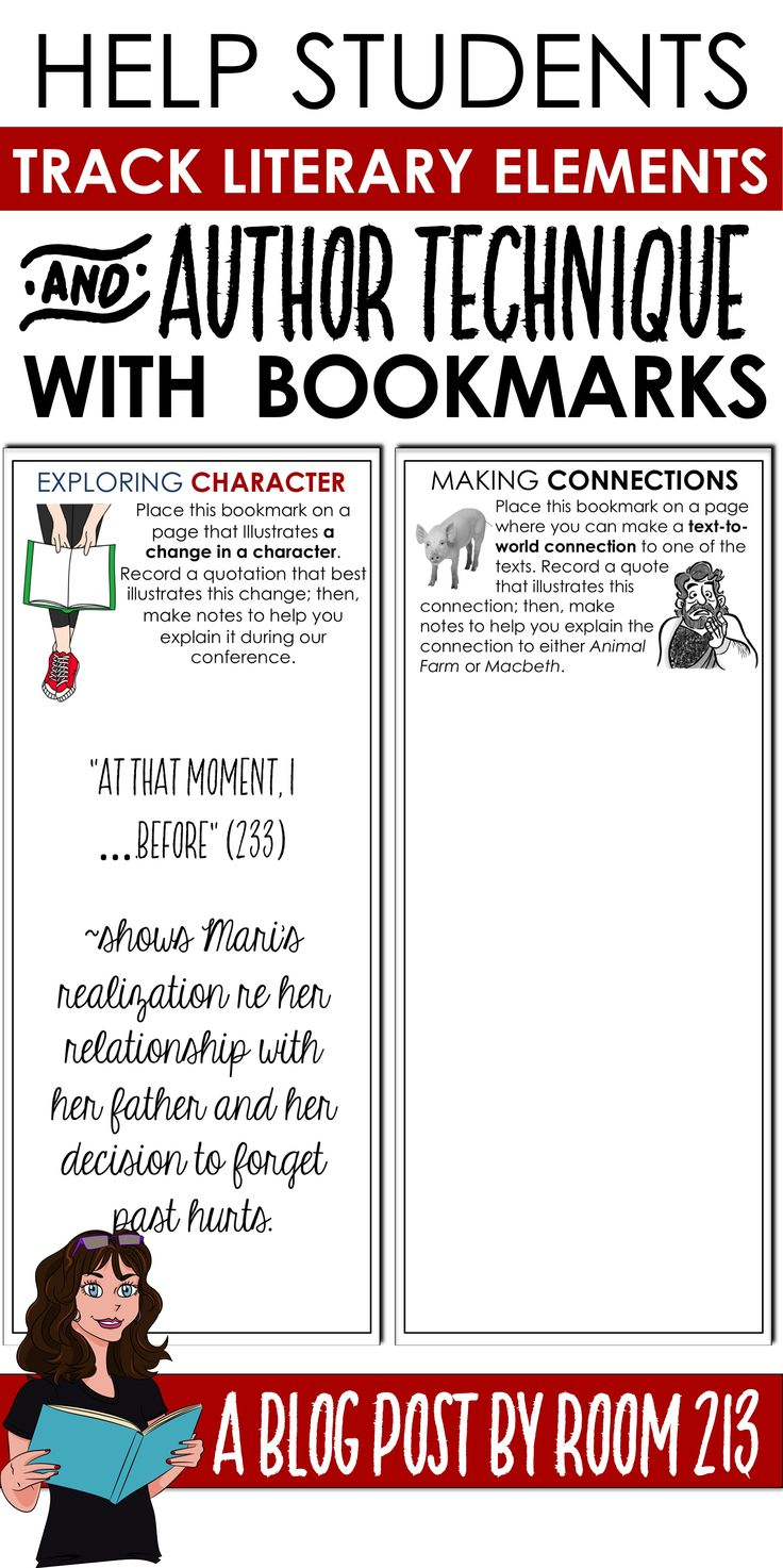 Reading workshop and independent reading can be hard to manage sometimes. Bookmarks that help focus students might just be the answer!