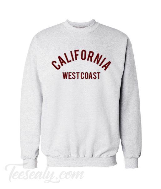 569ad8ead California West Coast Sweatshirt #outfit #dailyclothes #shirt #hoodie  #tanktop #sweatshirt #menfashion #fashion #womenfashion #menstyle  #womenstyle #cheap ...