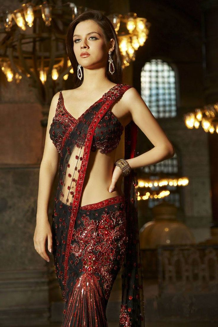 New Saree Blouse Designs Pattern 2013 4