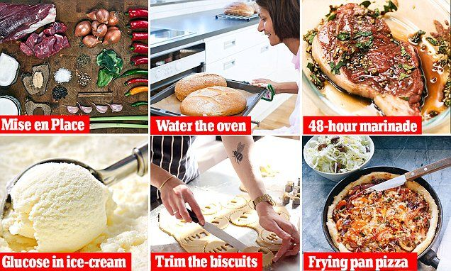 Top chefs reveal their food secrets that will change the way YOU cook | Daily Mail Online