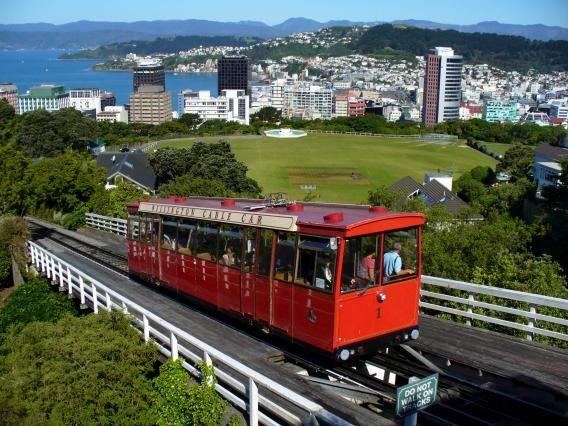 Wellington Cable Car. Photo by Ken Deal