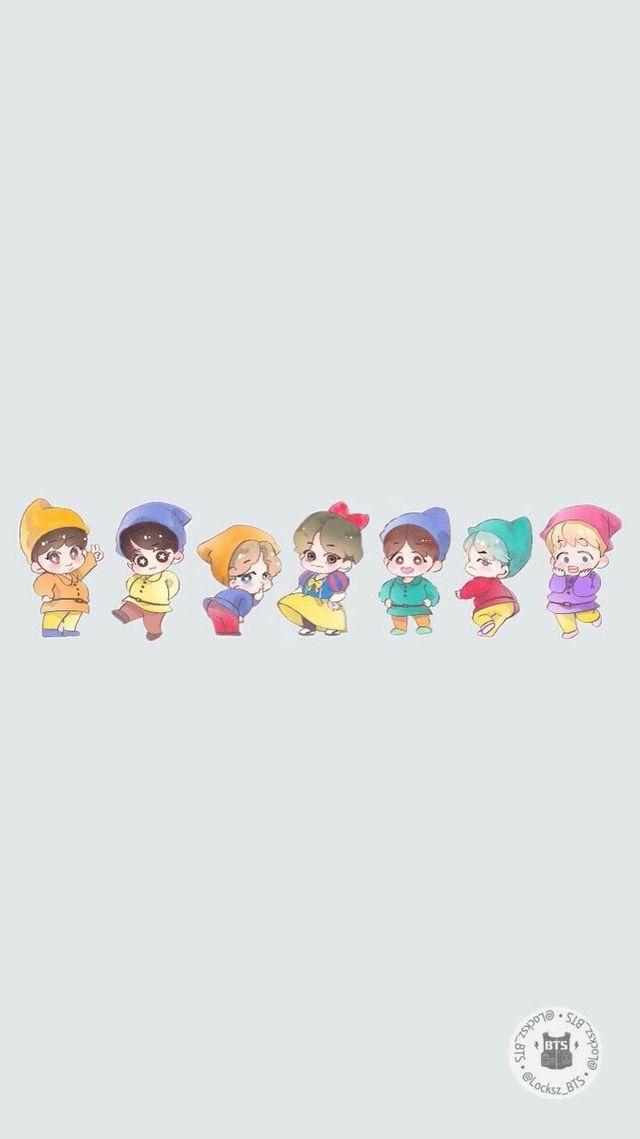 Bangtan Go Go V and the six dwarfs