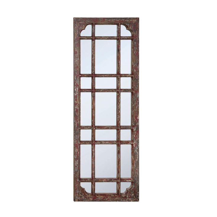 Vinson Brown Framed Mirror