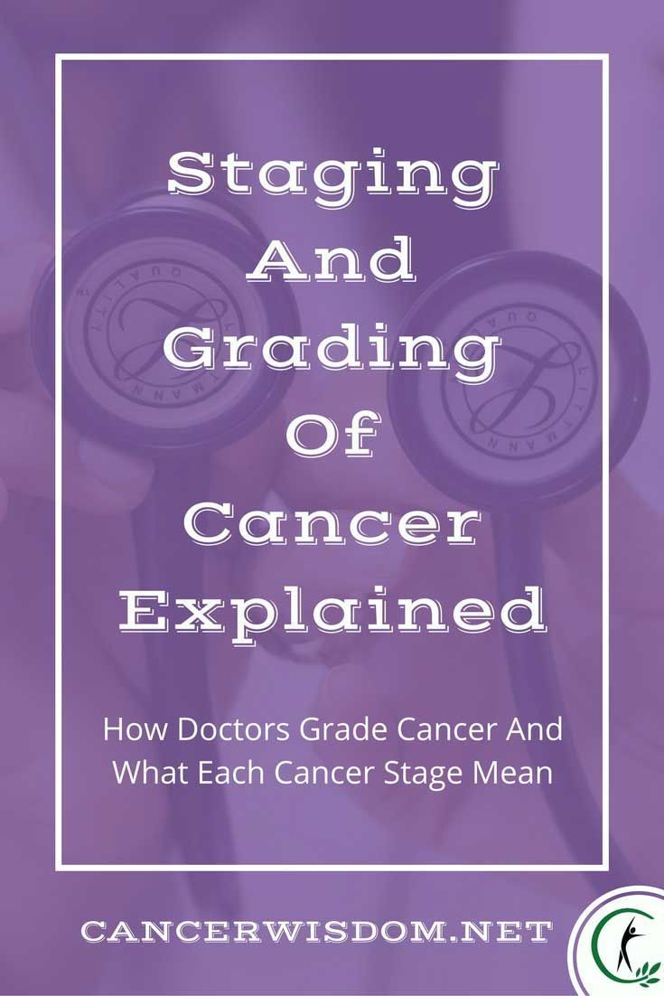 What The Different Cancer Stages Mean - All Terminology