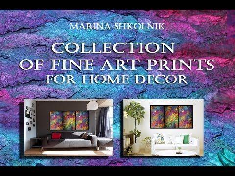 Abstract Art for Home Decor by Marina Shkolnik