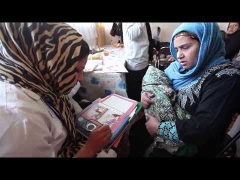 In Afghanistan, 1 out of every 11 mothers die during pregnancy or childbirth. Watch how CARE is training community educators to help women stay healthy through birth and their babies' first years of life.