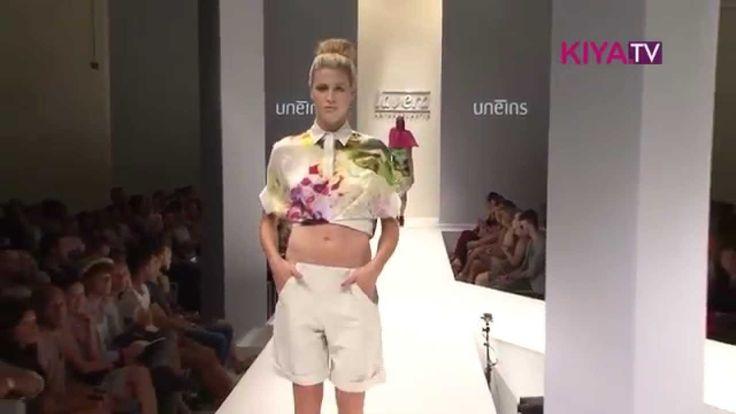 UNEINS SS15 Runway Berlin Fashion Week @Lavera Showfloor