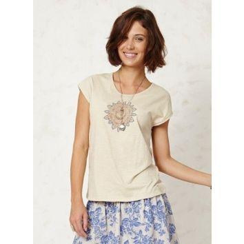 BRAINTREE | Astrid Tee | fijn bio-katoenen basic shirt