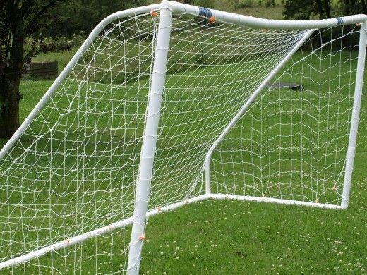 Your Kids Would Enjoy Soccer More with a Backyard Soccer Goal. #soccergoal #soccer