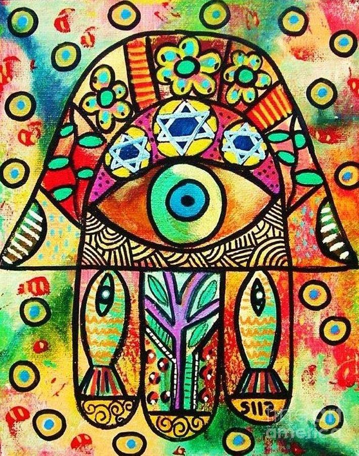 painted hamsas - Google Search