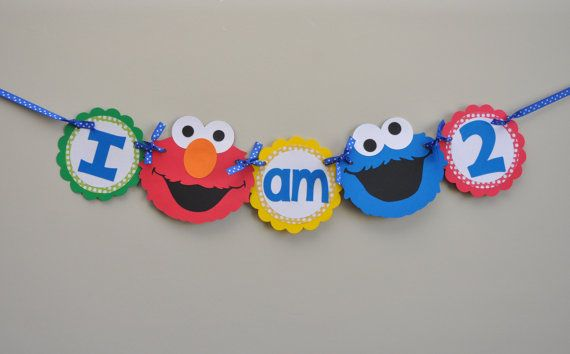 Hey, I found this really awesome Etsy listing at https://www.etsy.com/listing/227586685/sesame-street-high-chair-banner-i-am-1-i