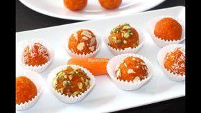 Carrot Truffles | Gajar Laddu Video Recipe | Bhavna's Kitchen - YouTube
