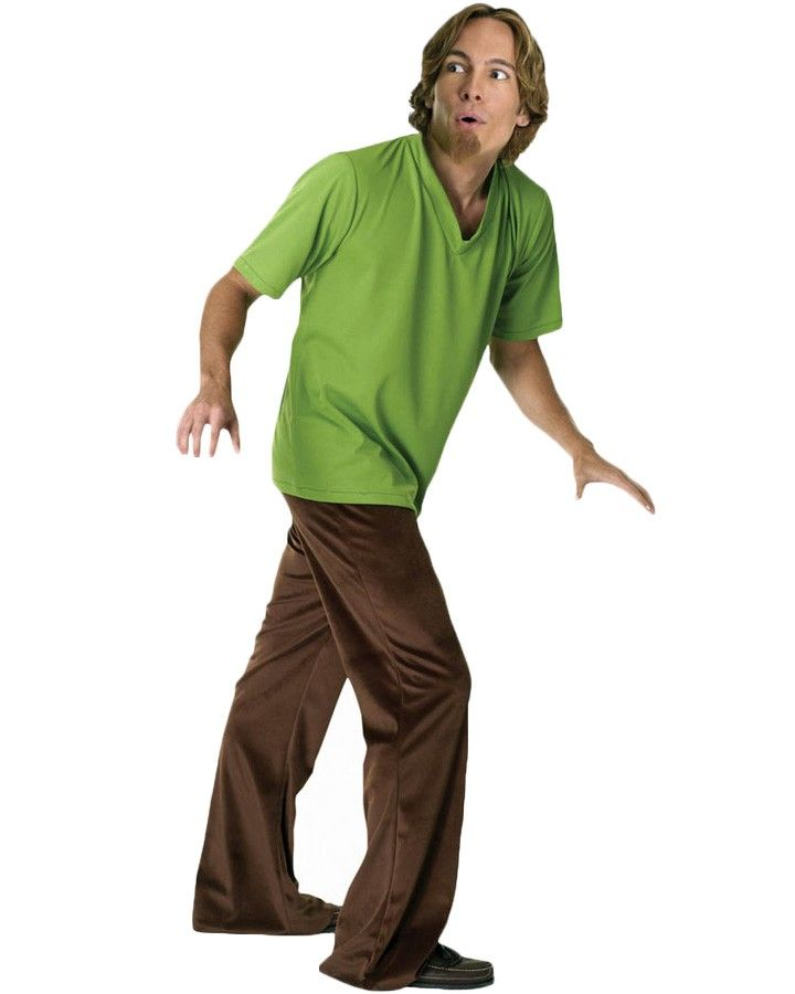 """""""Scooby-Doo, where are you?""""Item Includes: Pants. Wig. Goatee. Shirt."""