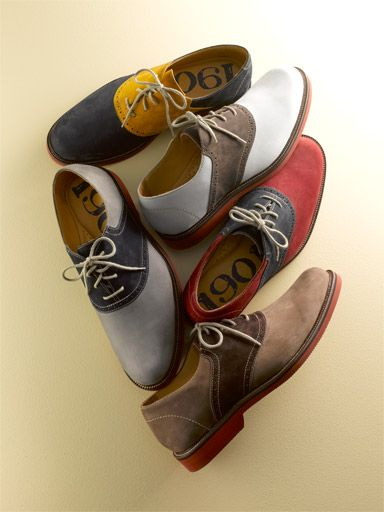 Saddle shoes. I wore saddle shoes everyday K-3 ! Love them