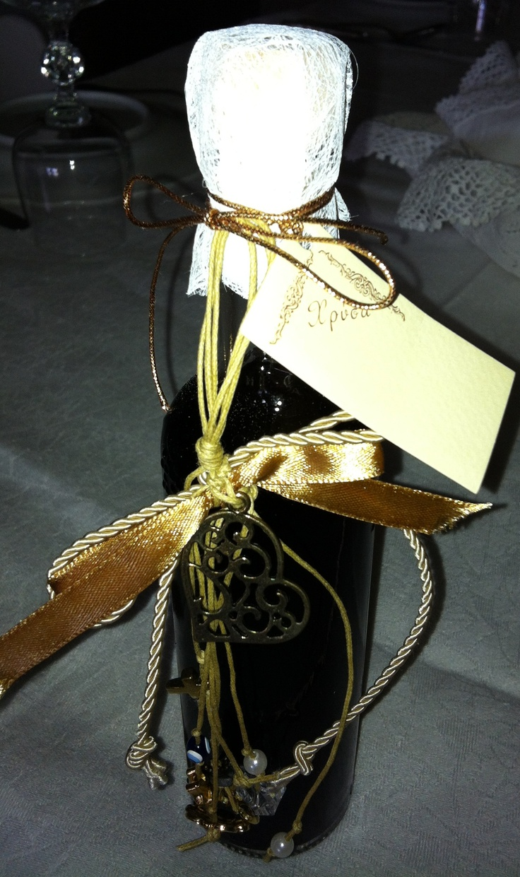 homemade liqueur with charm by Chryssa