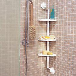Prateleira de canto para banheira ou poliban