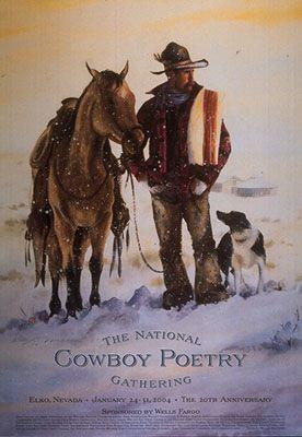 Cowboy Poetry Gathering 2004