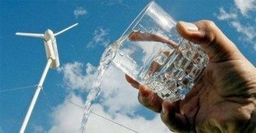 L'éolienne qui produit de l'eau potable