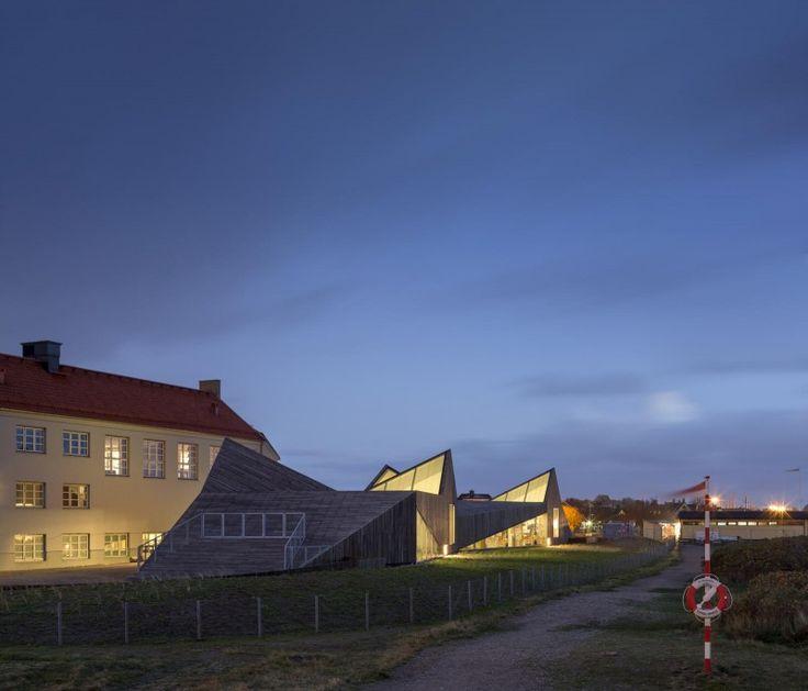 Råå Day Care Center by Dorte Mandrup Arkitekter - http://www.interiorredesignseminar.com/interior-design-ideas/raa-day-care-center-by-dorte-mandrup-arkitekter/