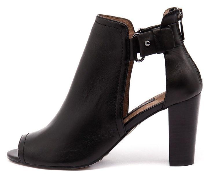 Diana Ferrari black cutout boots