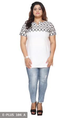 Short Plus Size Tunics