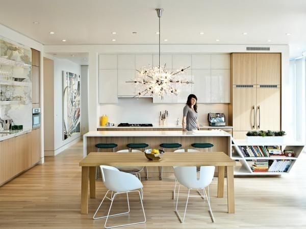 Küchen Trends 2013 Skandinavisch Einrichten Weiß Holz