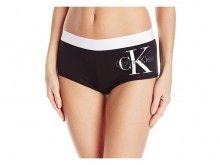 Calvin Klein černé nohavičkové kalhotky Boyshort - 690 Kč