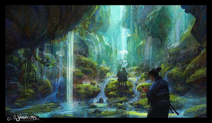 Jason Scheier - Legend of Yamamoto  Artwork (c) Jason Scheier, Jonathan Ryder, Tim Kallok. All rights reserved. 2014