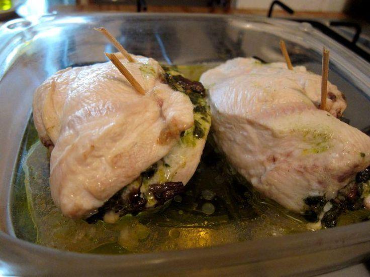 1000 ideas about pechugas rellenas on pinterest pechuga - Pechugas de pollo al horno ...